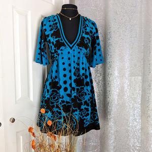 XXI Green Winter Dress Sz L